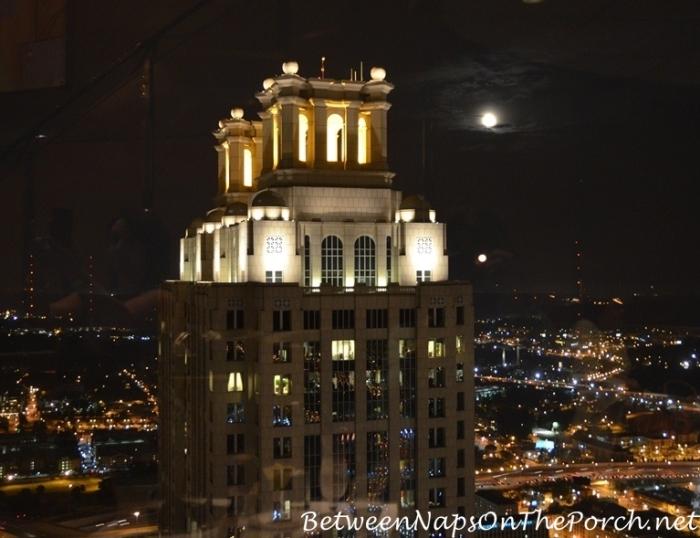View From Sun Dial Restaurant, Atlanta