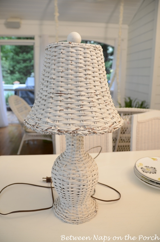 Wicker Lamp 1