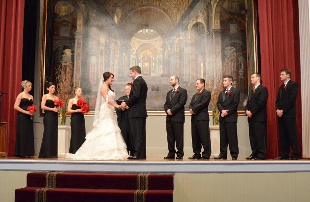 Wedding in the UGA Chapel