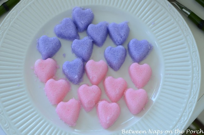 Make Heart-Shaped Sugar Cubes