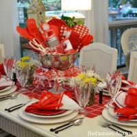 A Bridal Shower Tablescape with an Easy-to-Make Centerpiece