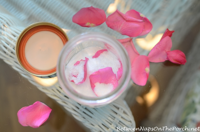 How To Make Rose Scented Sugar 1