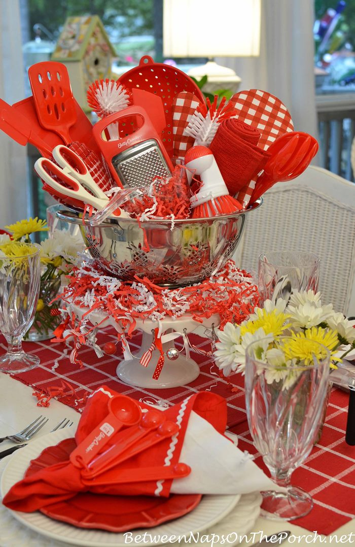 Kitchen Bridal Shower Tablescape