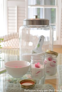 Make Rose-Scented Sugar for Desserts, Tea and Coffee