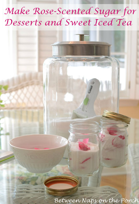 Make Rose-Scented Sugar