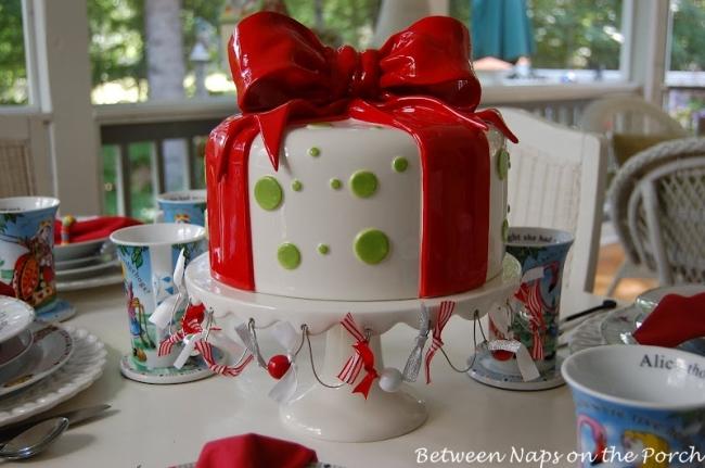 Whimsical Dept. 56 Cake Stand