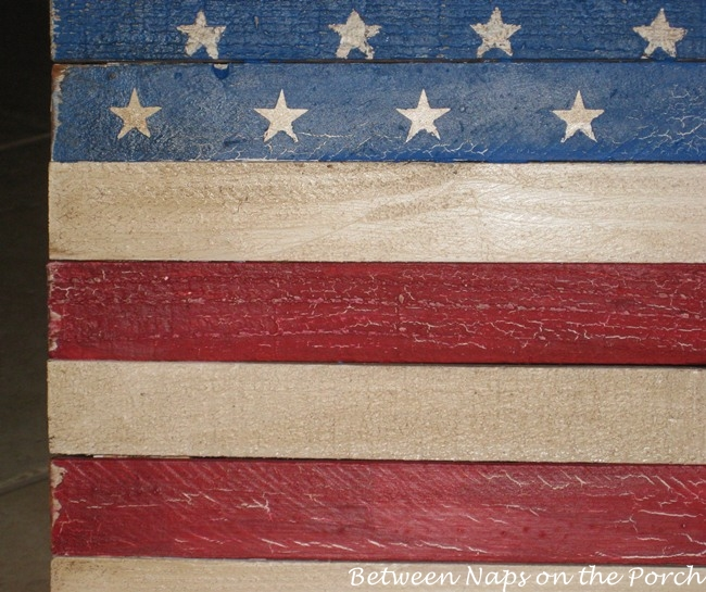 How to Age, Antique or Distress Wood Furniture, Signs or a Wood Flag