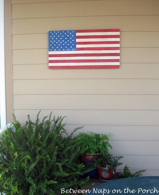 Pottery Barn Inspired Flag