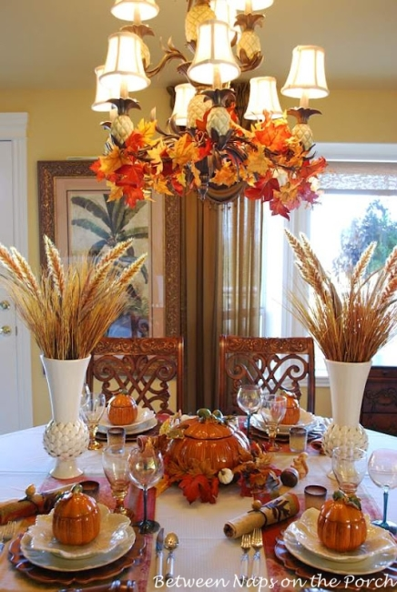 Autumn Tablescapes at https://betweennapsontheporch.net