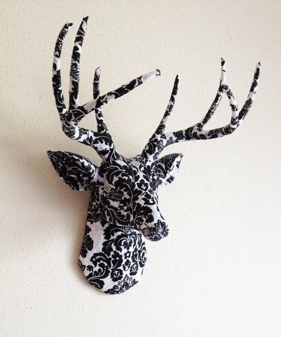 Deer head wall decor roselawnlutheran - Decorative stags head ...