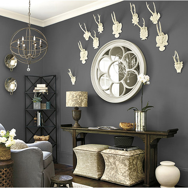 Decorating with Deer Heads White