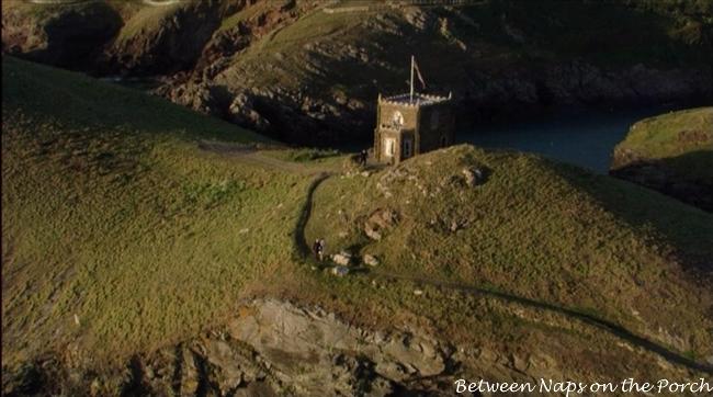 Doyden Castle Known as Pentire Castle in Doc Martin