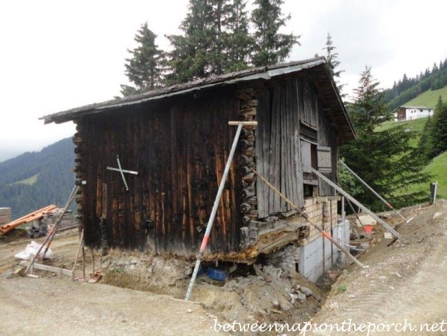 Historic Swiss Ski Cabin Renovation and Restoration