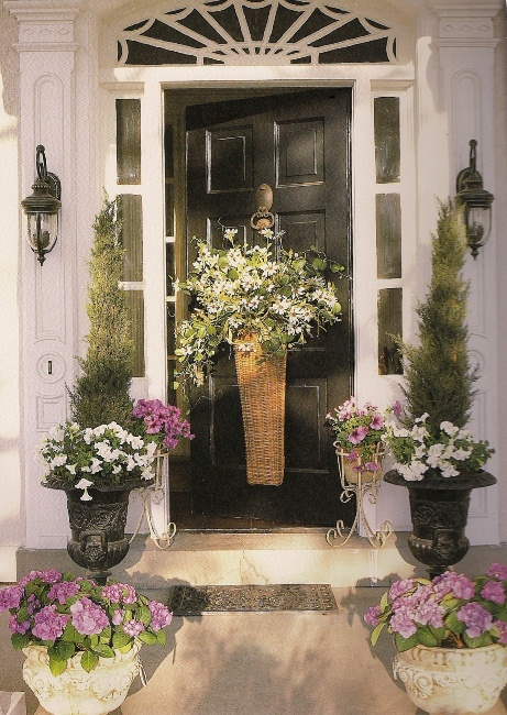Mary Carol Garrity's Front Door with Basket