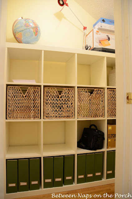 Office Closet Expedit Organization and Storage