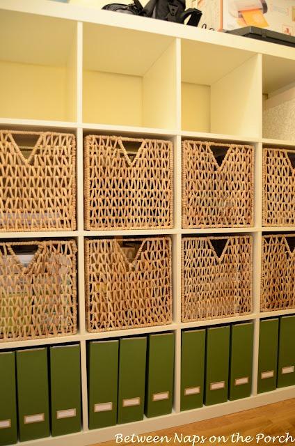 Office Closet Expedit Organization and Storage