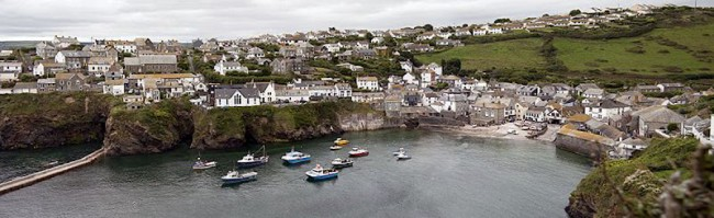 Port Issac, Cornwall from Doc Martin