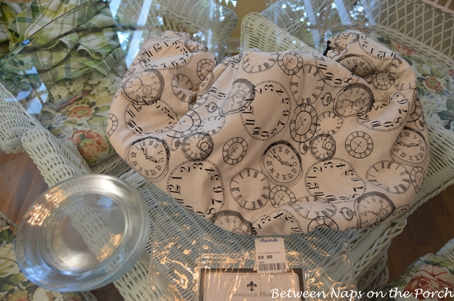 Pottery Barn Clock Plates Tutorial