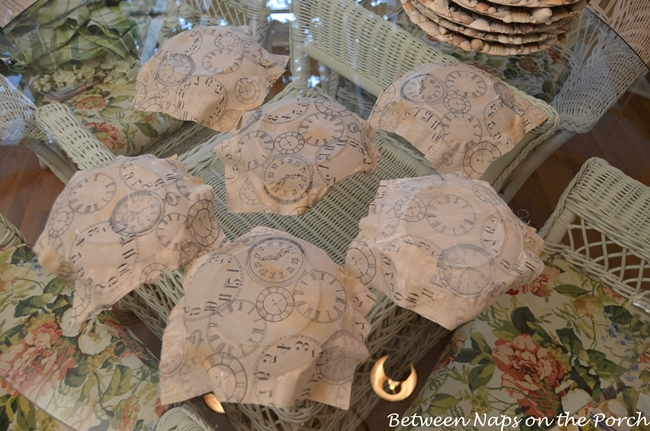 Pottery Barn Clock Plates Knock-off-Tutorial