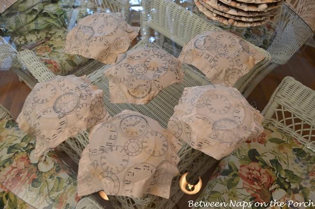 Pottery Barn Clock Plates Knock-off-Tutorial
