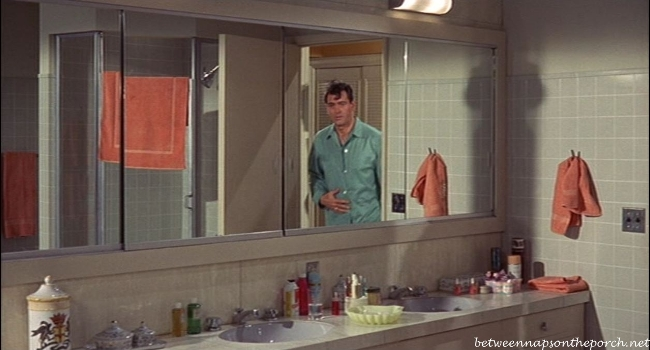 Send Me No Flowers Starring Rock Hudson and Doris Day, Tour this Movie House