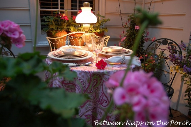 Summer Tablescape for Two from Between Naps on the Porch_wm
