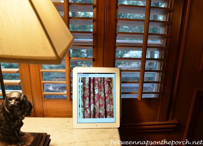 iPad in Family Room