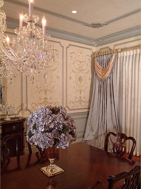 Stencil your room beautiful eye candy and a wonderful for French dining room decorating ideas