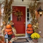Make Pumpkin Topiaries for an Autumn Porch
