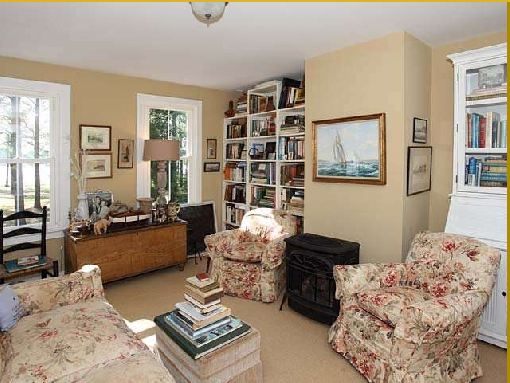 Library/Study in historic Georgian Style home in Virginia