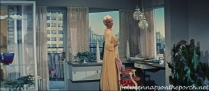 Doris Day's Apartment in the movie, Pillow Talk 09