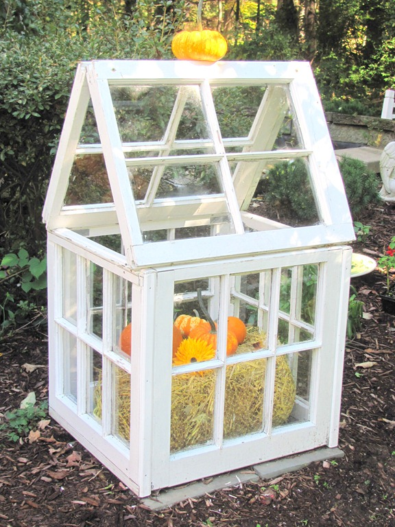 Fall Garden Greenhouse