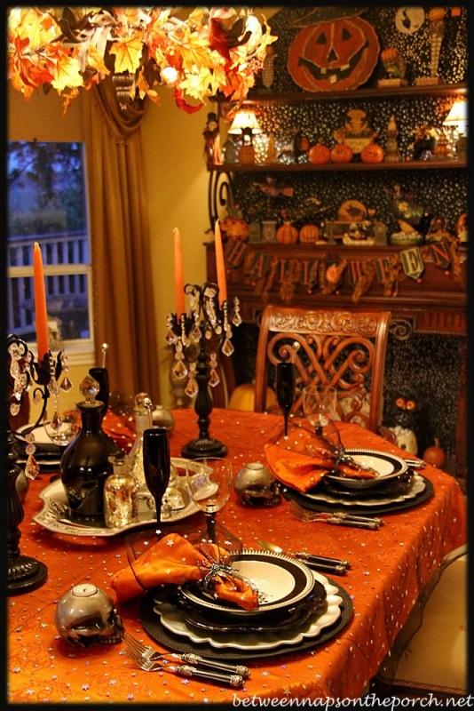 Halloween Tablescape Elegant Amp Eerie