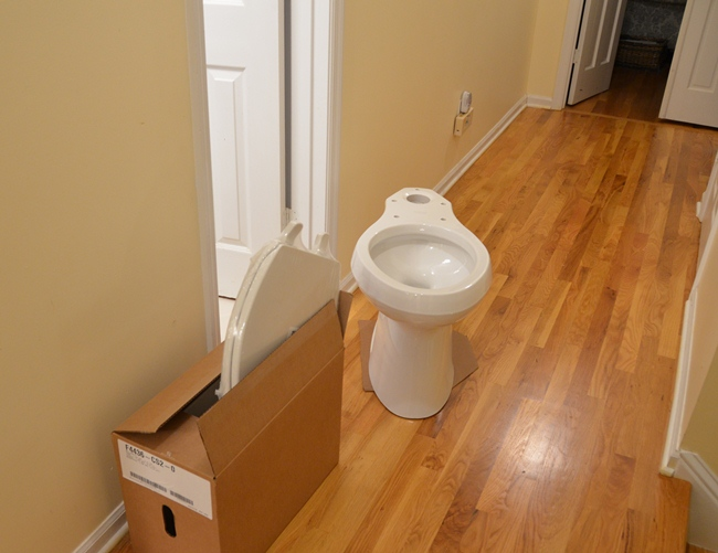 Updating 30 Year Bathrooms with New WaterSense Toilets