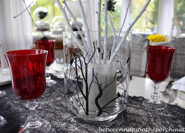 Make a Crow Tree Centerpiece for Halloween