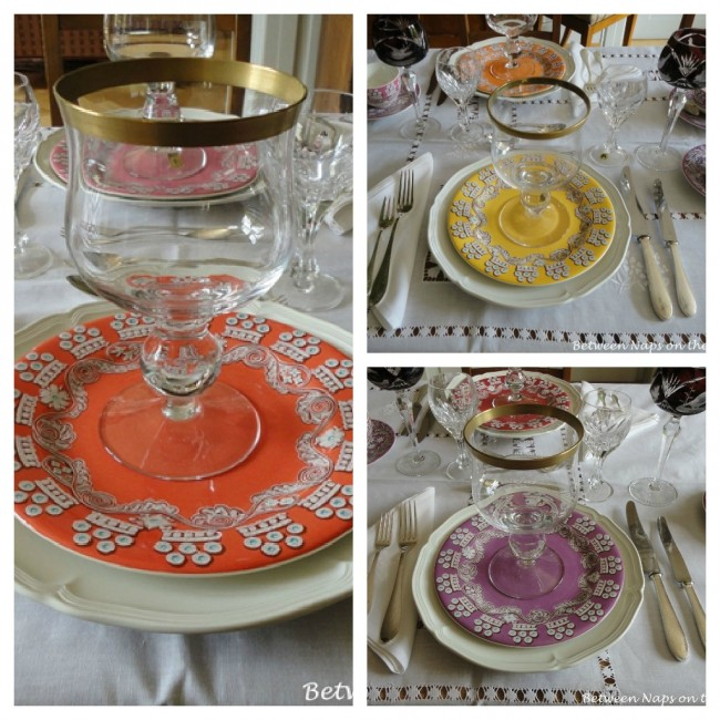 Villeroy & Boch Manoir and Paseo Gien France Tablescape Table Setting