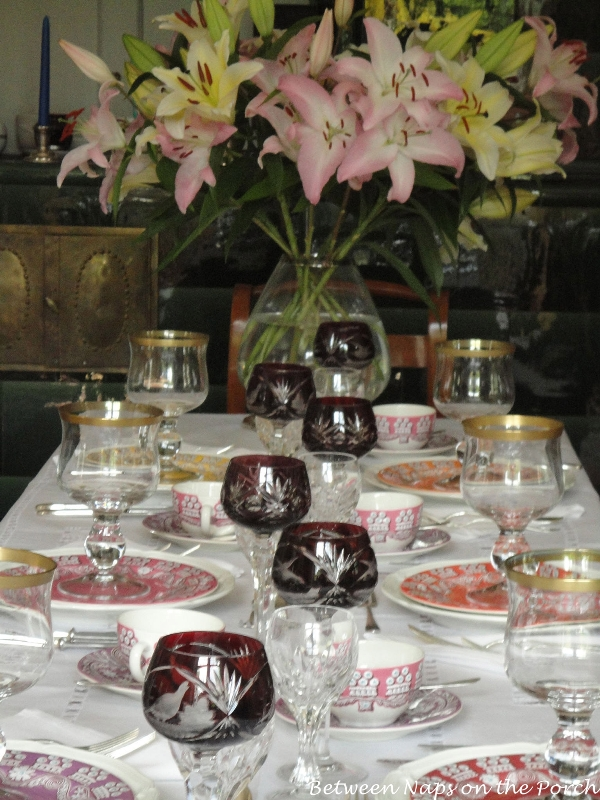Beautiful Tablescape Table Setting With Villeroy Amp Boch