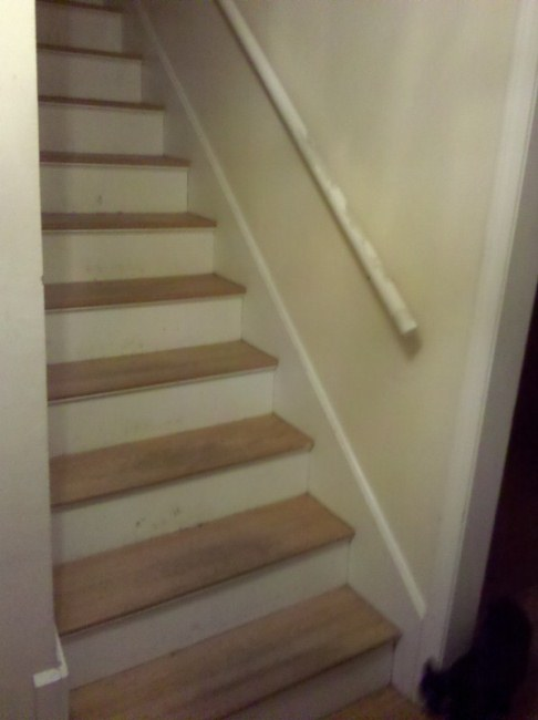 1 Staircase Before Renovation