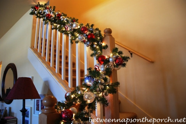 Christmas Banister Decorations
