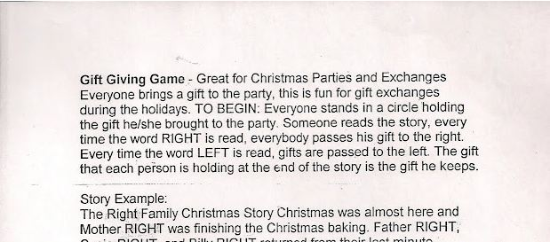 Fast, Fun Gift Exchange Game for Christmas Parties