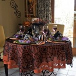 Two Whimsical Halloween Tablescapes