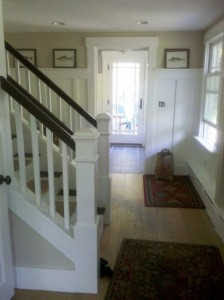 Staircase Renovation & Mudroom Addition