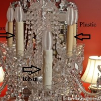 Transform Your Chandelier with Resin Candle Covers and Silk-Wrapped Bulbs