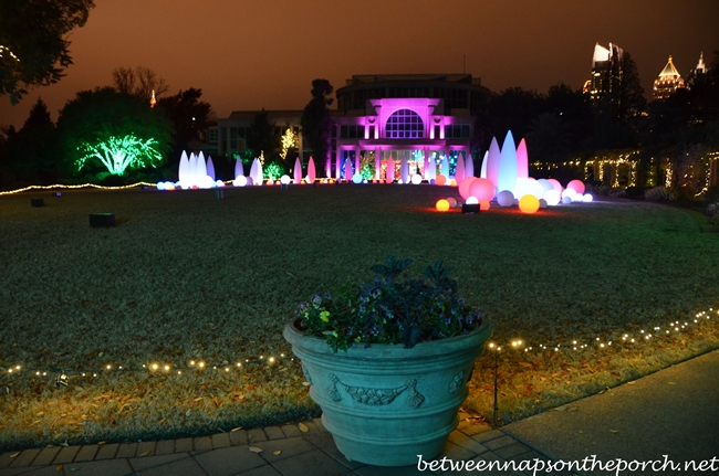Atlanta Botanical Gardens, Garden Lights, Holiday Nights