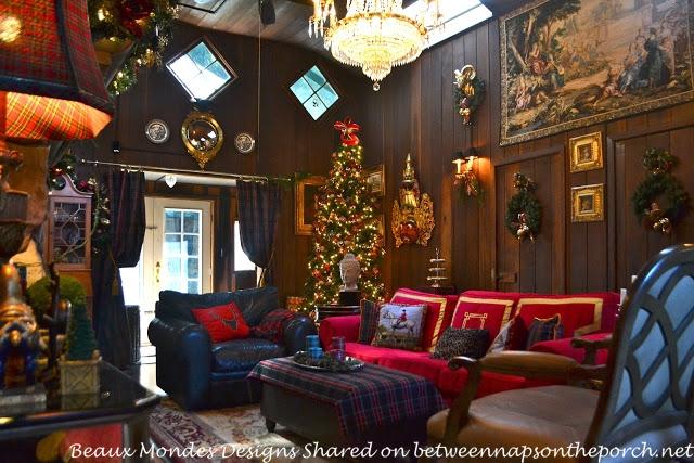 Beautiful Cabin Lodge Living Room Renovation