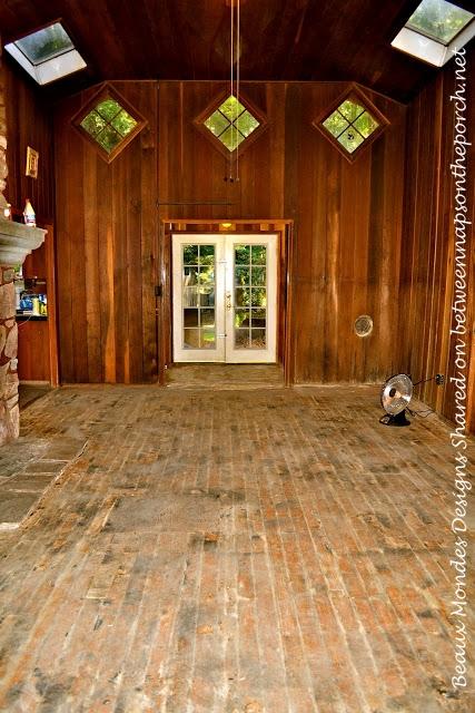 Cabin Living Room Renovation