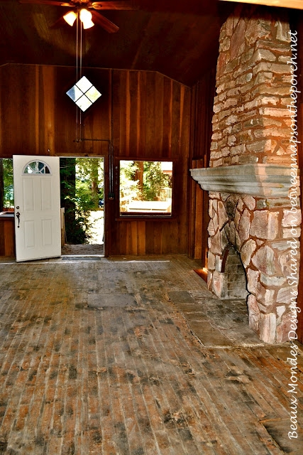 Cabin Living Room Renovation 2