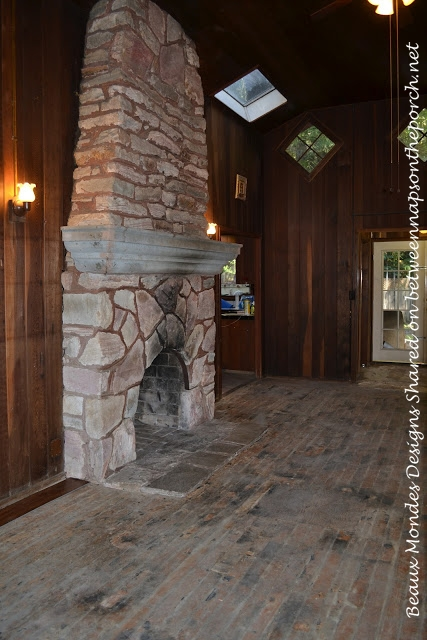 Cabin Living Room Renovation 3