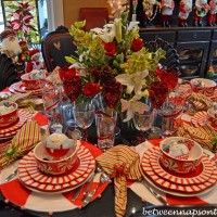 Four Beautiful Christmas Table Settings