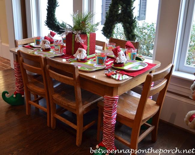 Children's Christmas Table